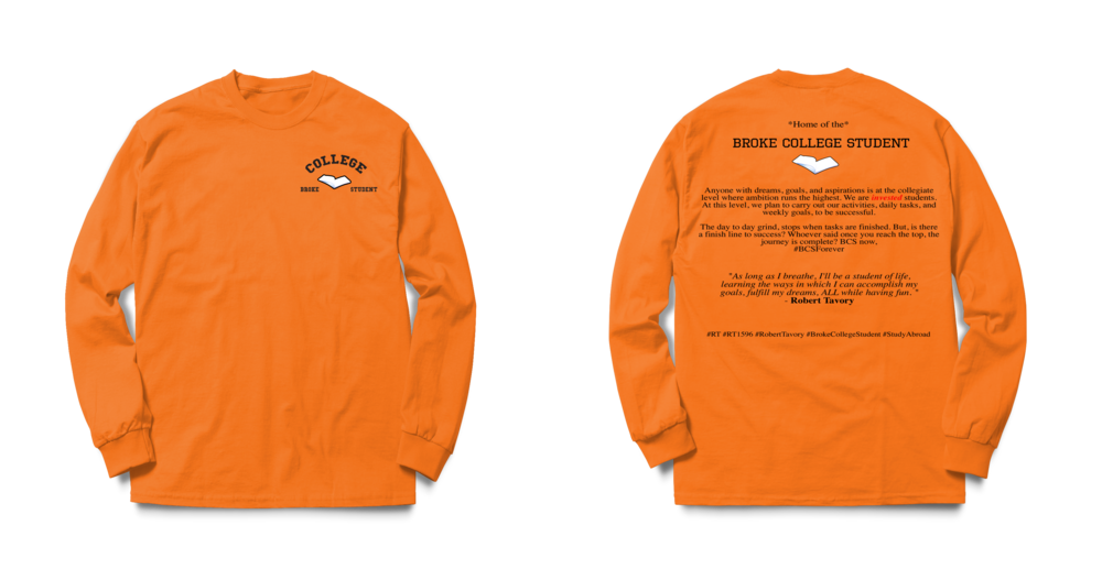 #BCSForever Long Sleeve Tee - Orange psd.png