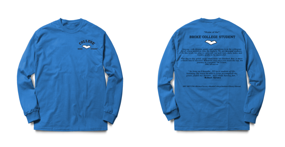 #BCSForever Long Sleeve Tee - Royal Blue psd.png