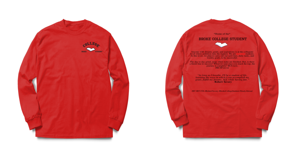 #BCSForever Long Sleeve Tee - Red psd.png