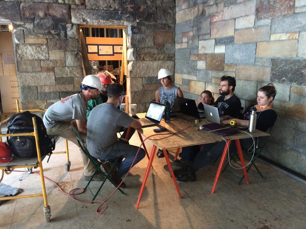Team discussions