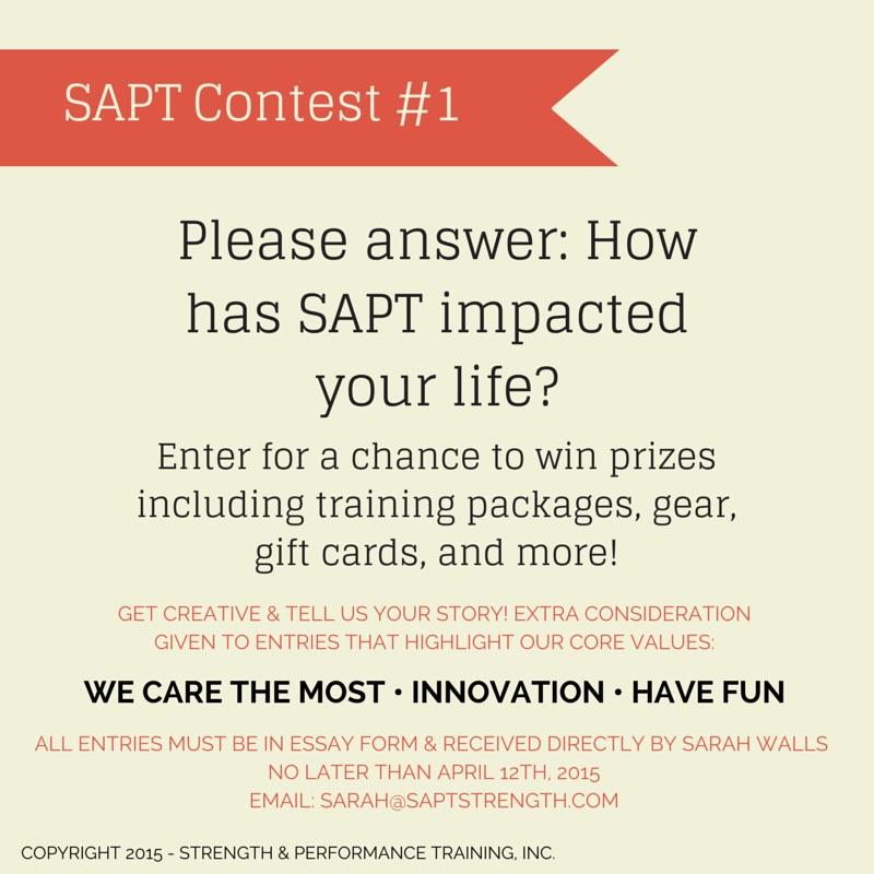 SAPT Contest #1