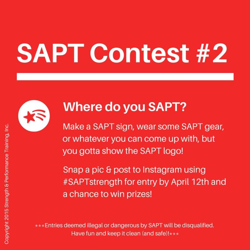 SAPT Contest #2