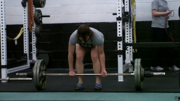 Lisa SAPT Barbell Conventional Deadlift