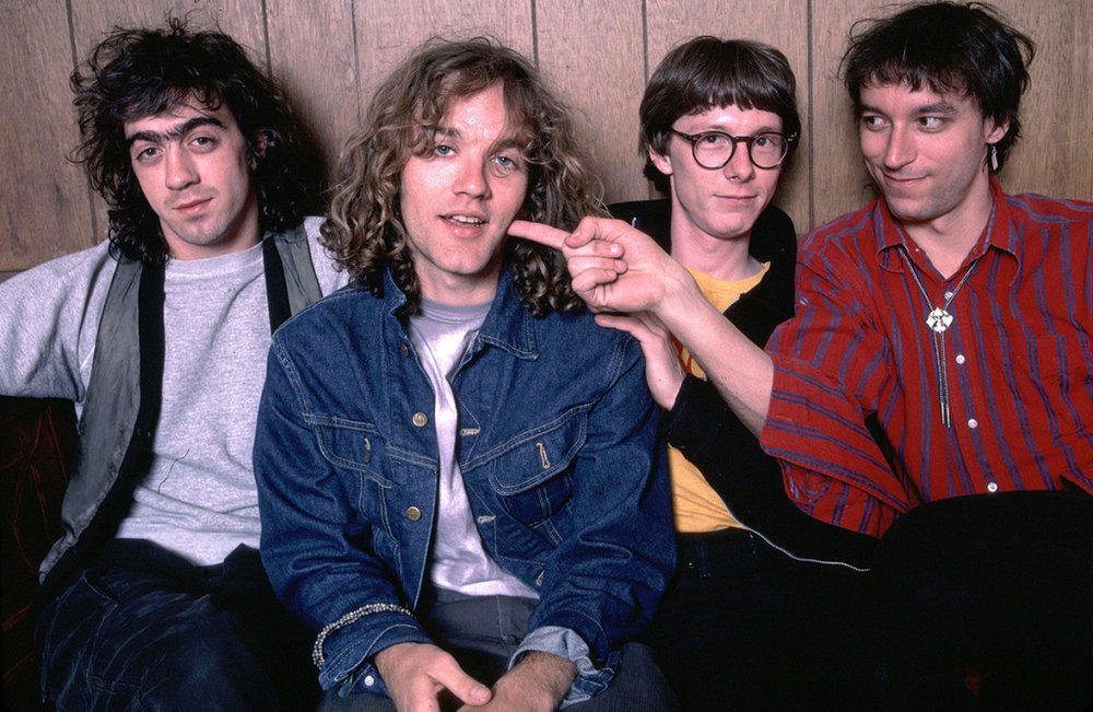 R.E.M. When they had hair