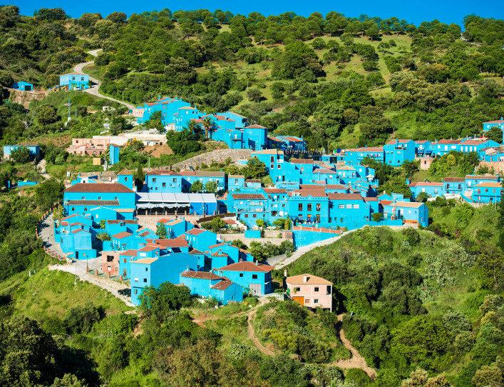 Júzcar, Spain - Smurf Village