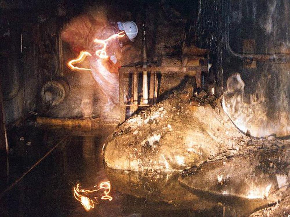 Chernobyl's Elephant's Foot