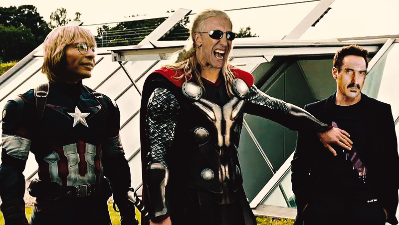 The 85 PMRC Avengers - John Denver, Dee Snider, and Frank Zappa