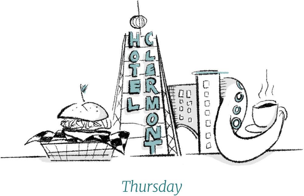 Dixon Rye Guide to Atlanta Thursday illustration