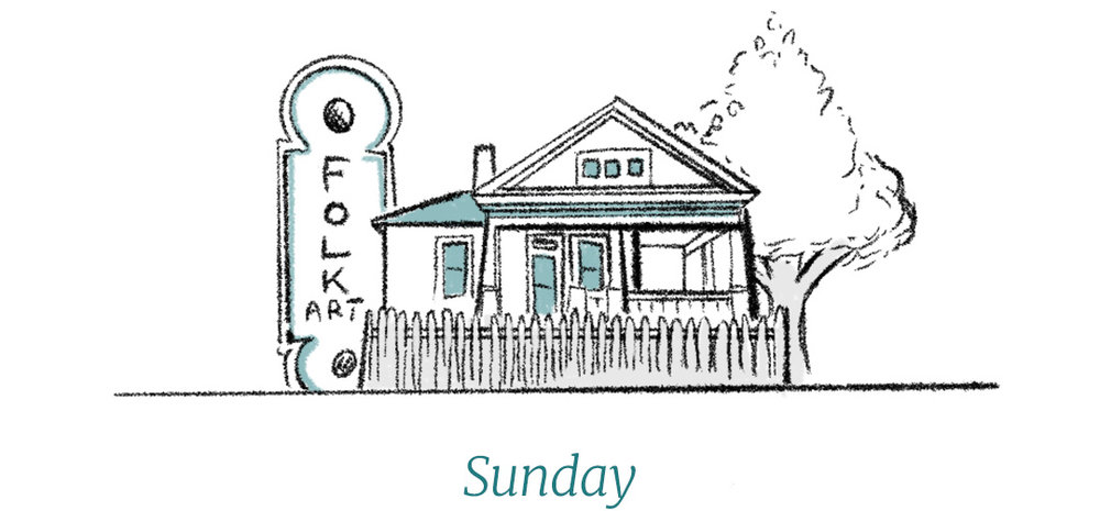 Dixon Rye Guide to Atlanta Sunday illustration