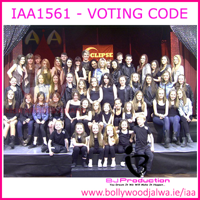 IAA DANCE GROUP OF THE YEAR 2015 - ECLIPSE STAGE SCHOOL
