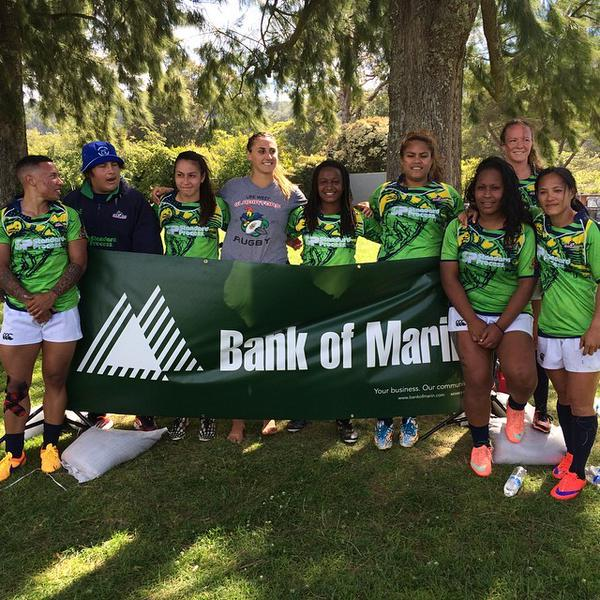 Life West Women's 7s at start of the season.