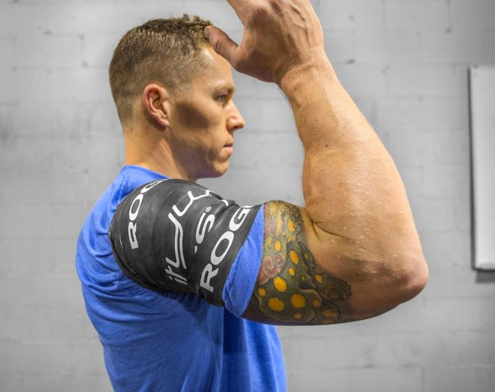 Example of compression bands (Photo via roguefitness.com)