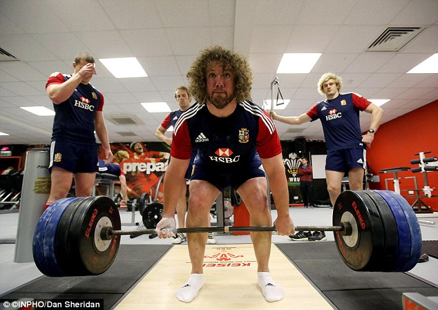 British & Irish Lions Training - Photo Dan Sheridan