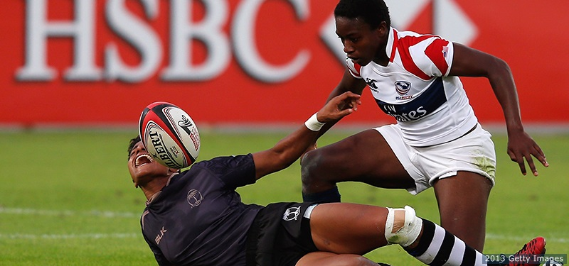 Photo: Team USA 2013 (Dubai). Vix vs Fiji