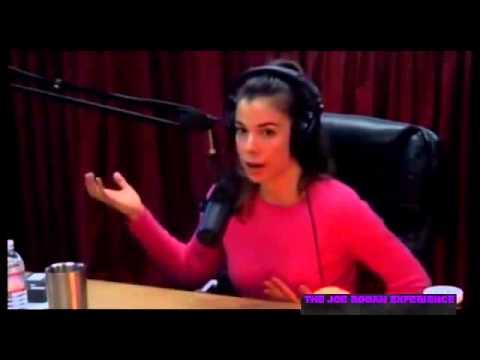 Dr. Rhonda Patrick, PhD appearing on the Joe Rogan Experience (YouTube).