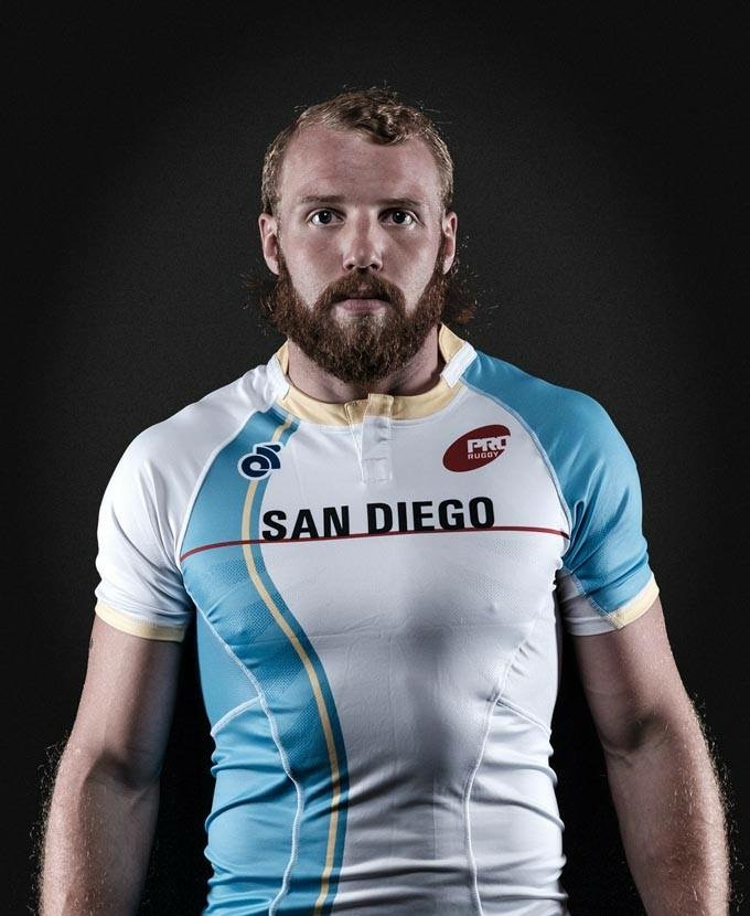 Tim Stanfill, Winger PRO Rugby San Diego.  (Photo PRO Rugby 2016).