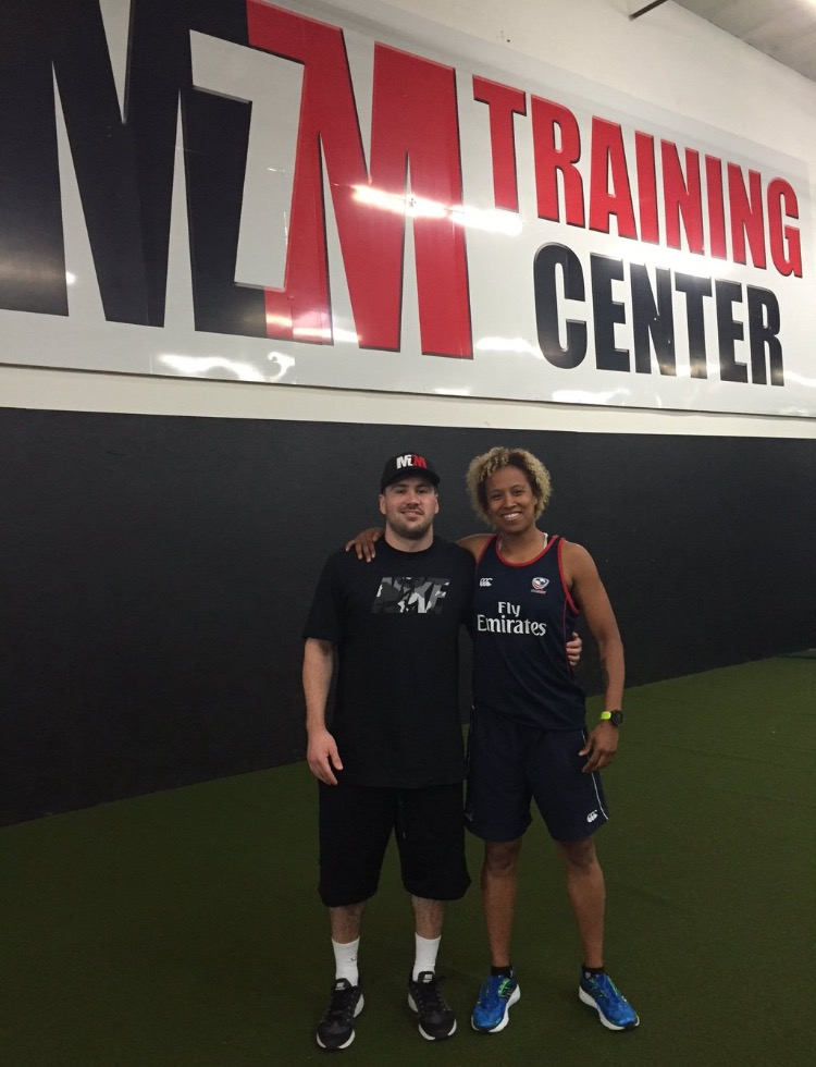 Nathalie Marchino at the MM7 Training Center (SD, 2016)