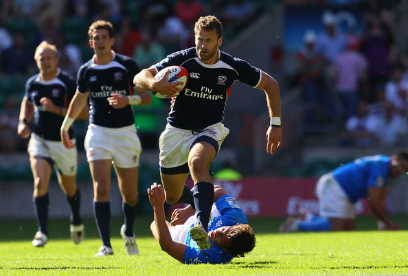 Kevin Swyrin,   USA Rugby 7s  (Photo The Rugby Corner)