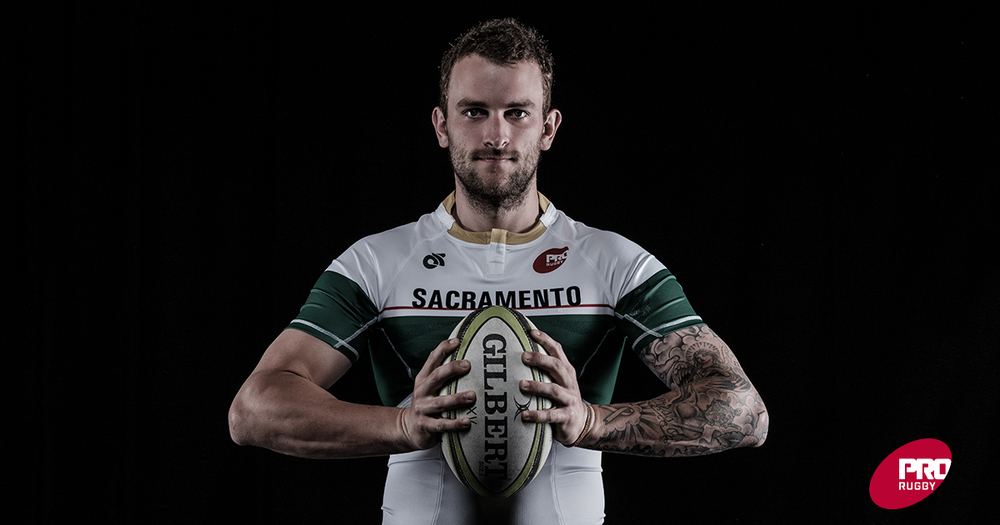 Garrett Brewer of the Sacramento Express. (Photo PRO Rugby 2016)