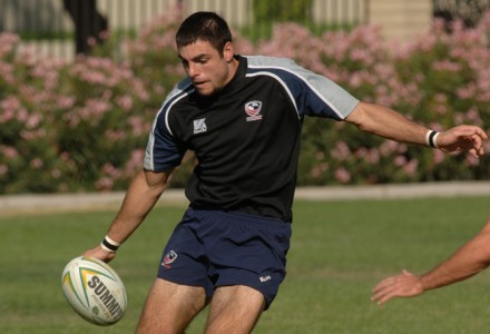A young rugby playing Nate Ebner.