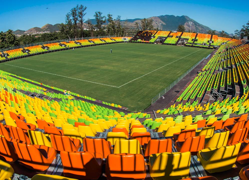 Deodoro Stadium, Olympic Venue for Rugby at the 2016 Rio Games.