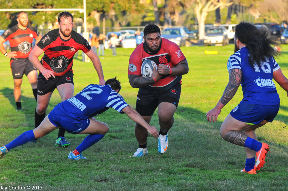 Old Aztecs vs OMBAC in Cal Cup Compeition. Photo by Jay Coulter January 14, 2017 San Diego, CA