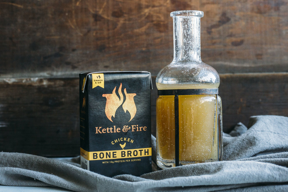 KETTLE & FIRE BONE BROTH FOR JOINT, GUT AND SKIN HEALTH