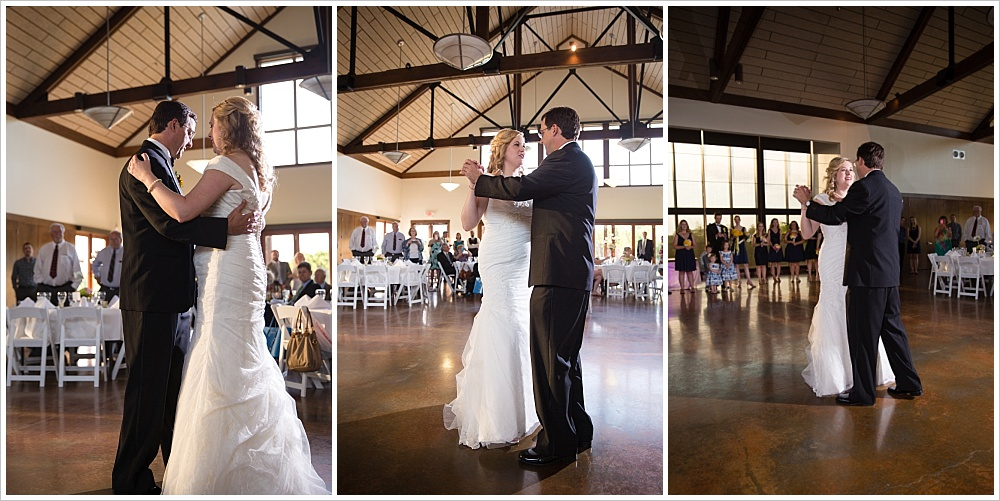 first dance | Carleen Bright Arboretum, Woodway, Texas | Jason & Melaina Photography