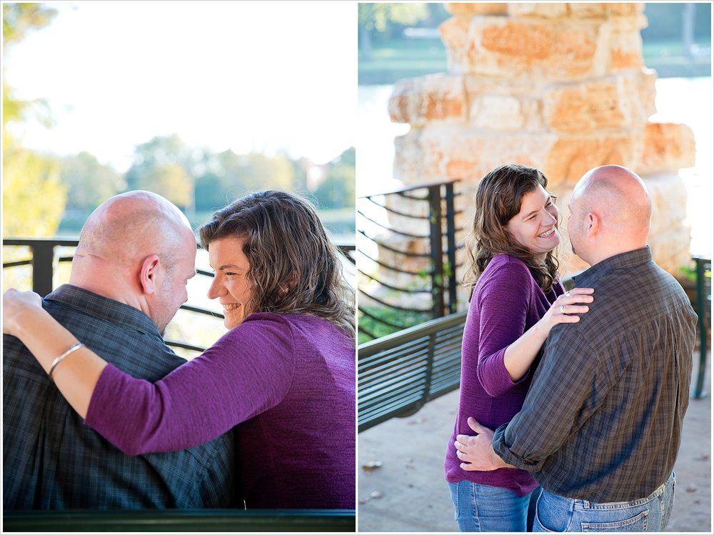engagement portraits by Brazos River | Waco, Texas | Jason & Melaina Photography