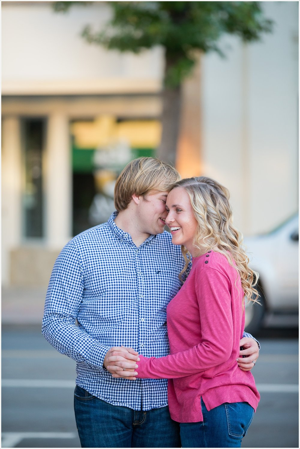 Couple's portraits downtown | Love Photography in Waco, Texas | Jason & Melaina Photography