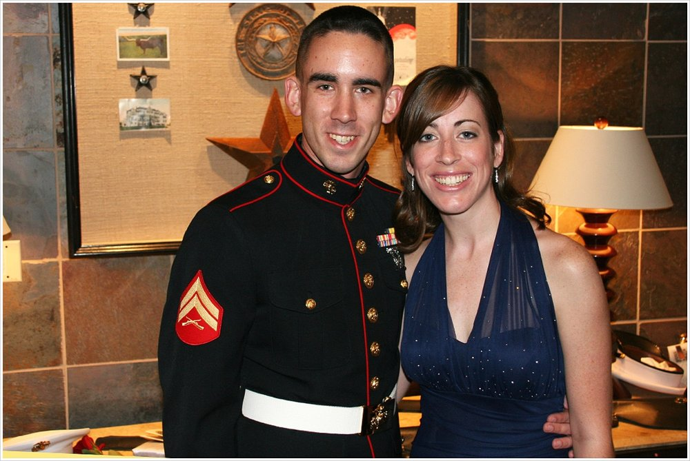 Us at the Marine Corps Ball