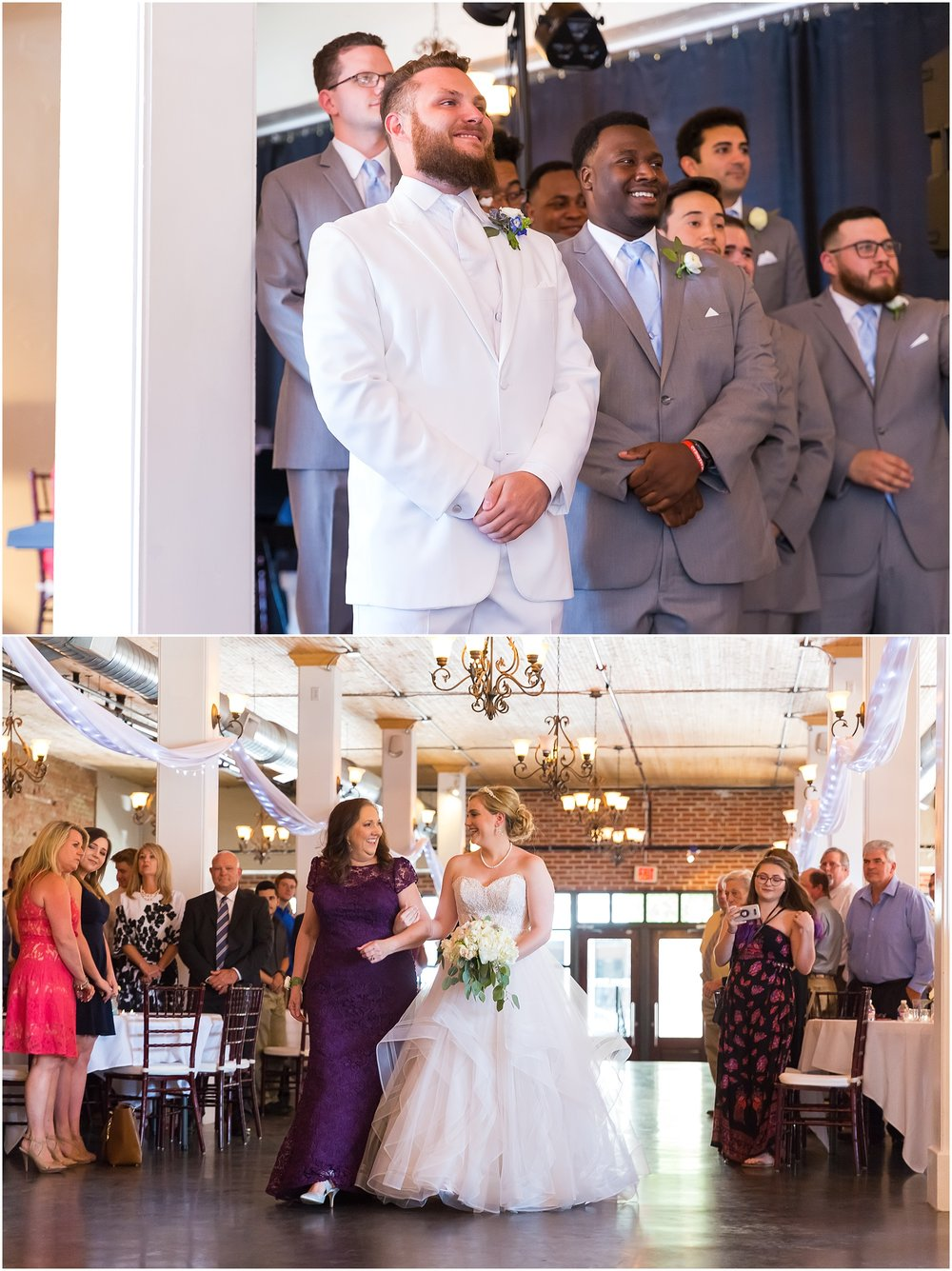 Downtown warehouse wedding in Waco, Texas - www.jasonandmelaina.com