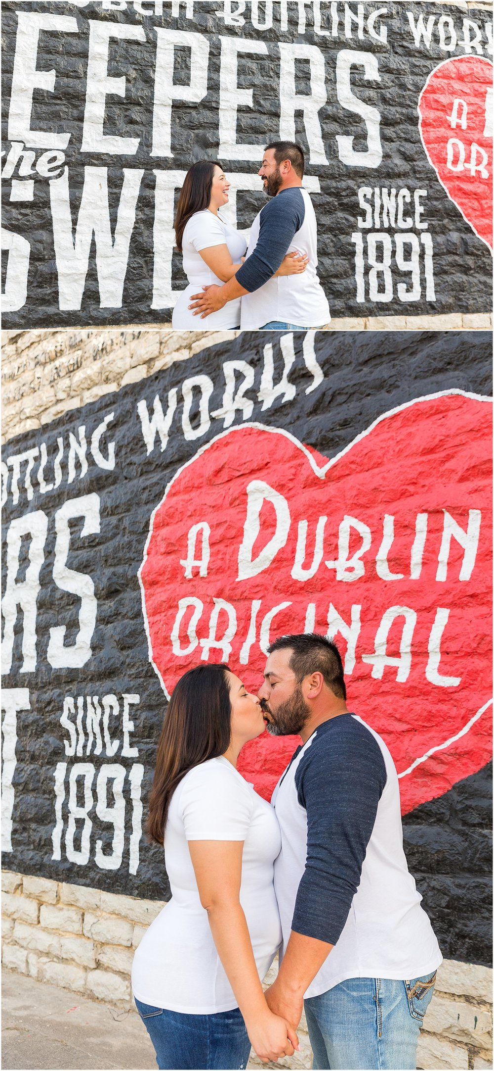 Fun engagement portraits in Dublin, TX - Jason & Melaina Photography - www.jasonandmelaina.com