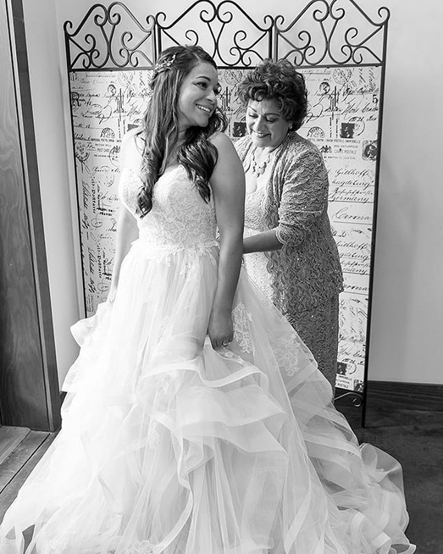 Since becoming a mom myself, images like this one of @andielainec and her mom really touch my heart.  I imagine helping one of my daughters into her wedding dress one day and I get that bittersweet feeling.  What image from a wedding really gets you?