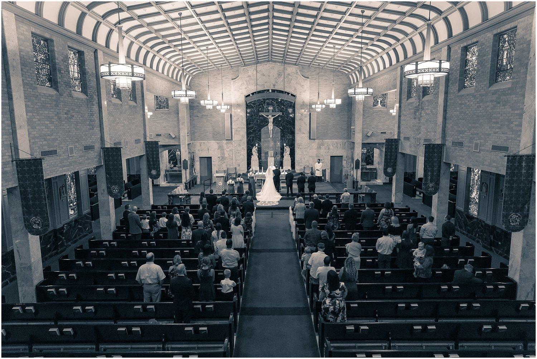 Jeremiah & Shannon | St  Louis Catholic Church Wedding