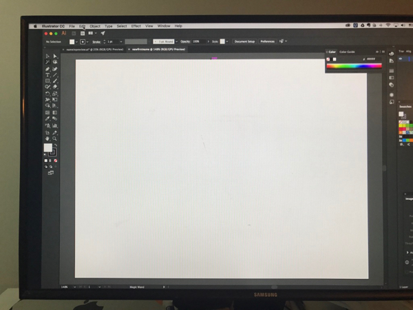 16. This blank new ai file...