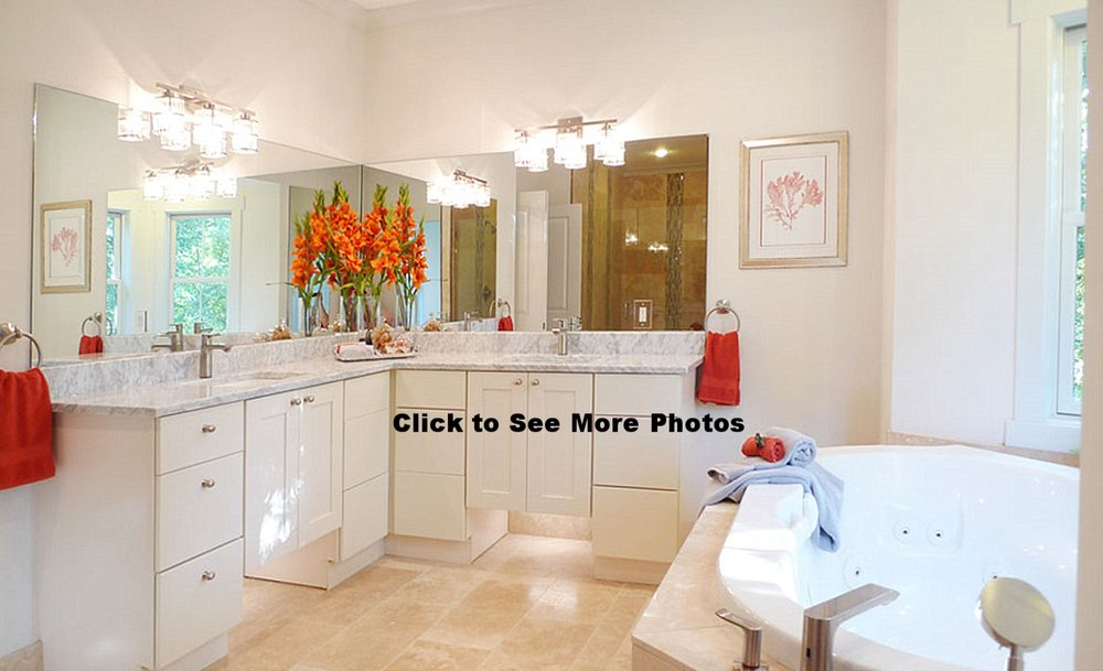 Arlington Virgingia home staging master bath