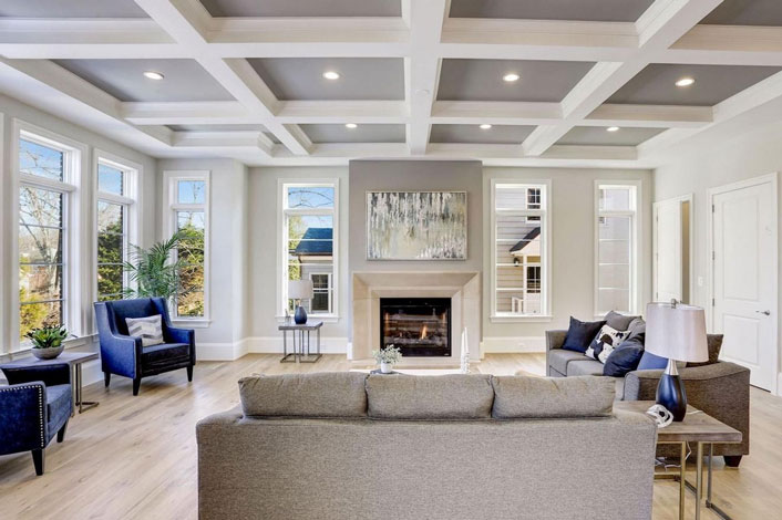 Copy of Bethesda Maryland Home Staging Living Room