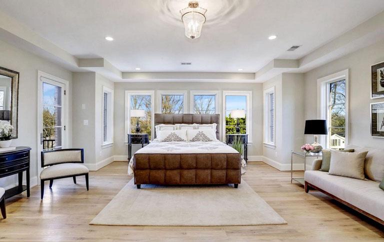 Potomac Maryland Grand Master Bedroom