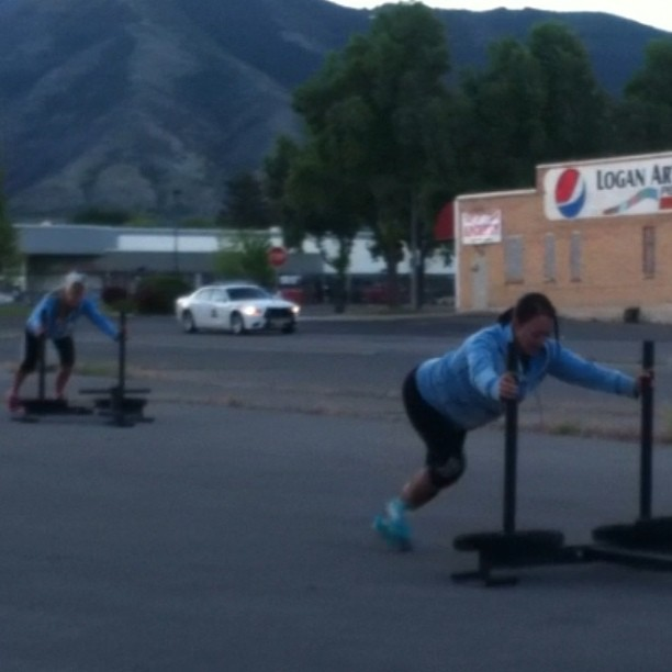 Beautiful morning for pushes!#prowler#breakfastofchampions