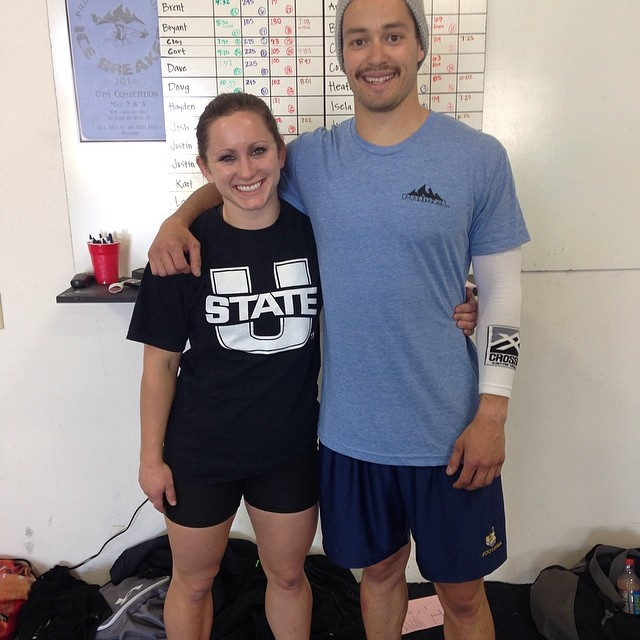 CVSC'ers getting after it at Primal Mtn's Icebreaker event this morning.  They both PR'd their cleans and finished on top of their divisions .  Great job you two! @j_zum @anjeanettew @primalmountainsc #cvsc #crossfitusu #crossfit