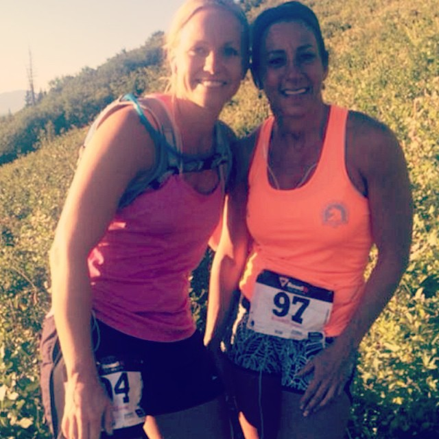 Anna W. and Tanya W. after running the Skyline Marathon. Way to go ladies!! #cvsc #mountainmarathon