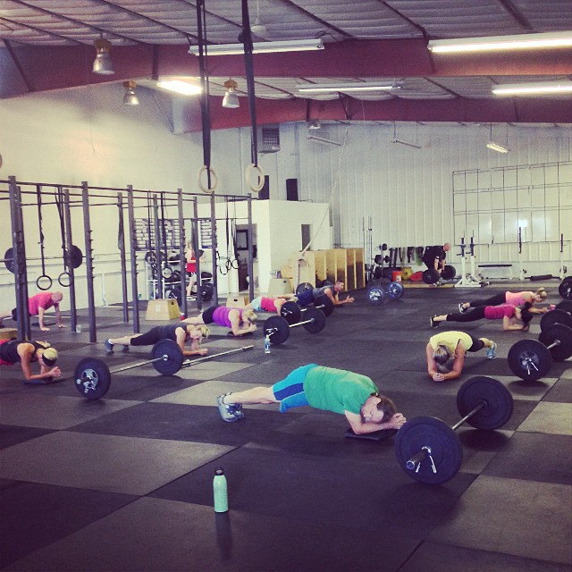 Morning crew getting after it!! #cvsc #deadsandplanks