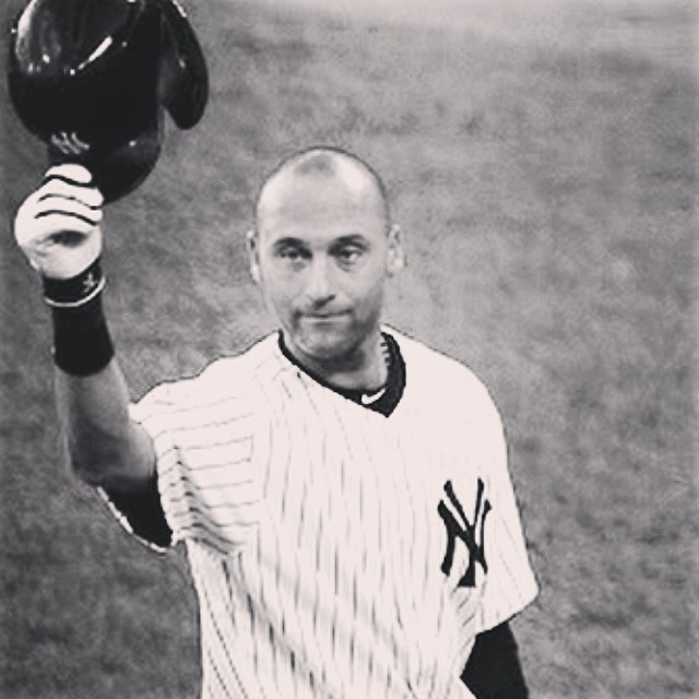 He is everything that is good about being a baseball player. Farewell Captain! #jeter #respect