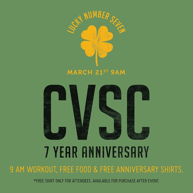 Save the date!#cvsc #raisethebar