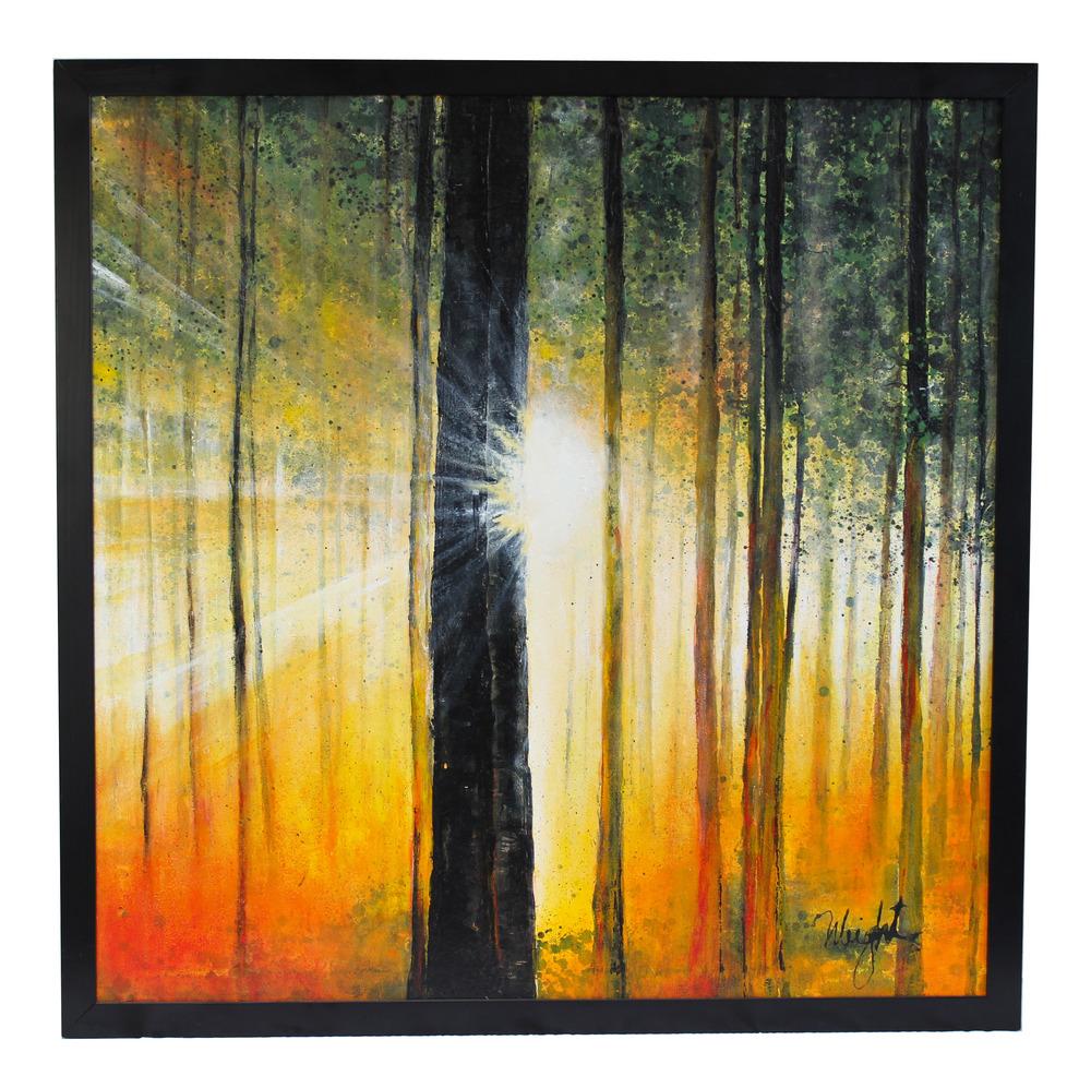 "Evening Light | 40x40"""