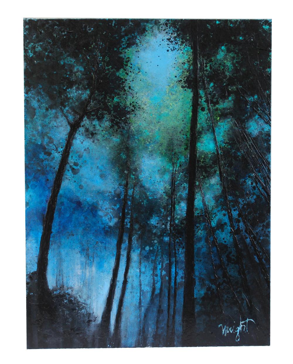 "Solitude in Blue | 30x40"""