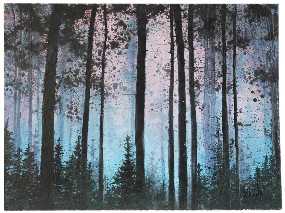 "Morning Forest Fog | 30x40"""