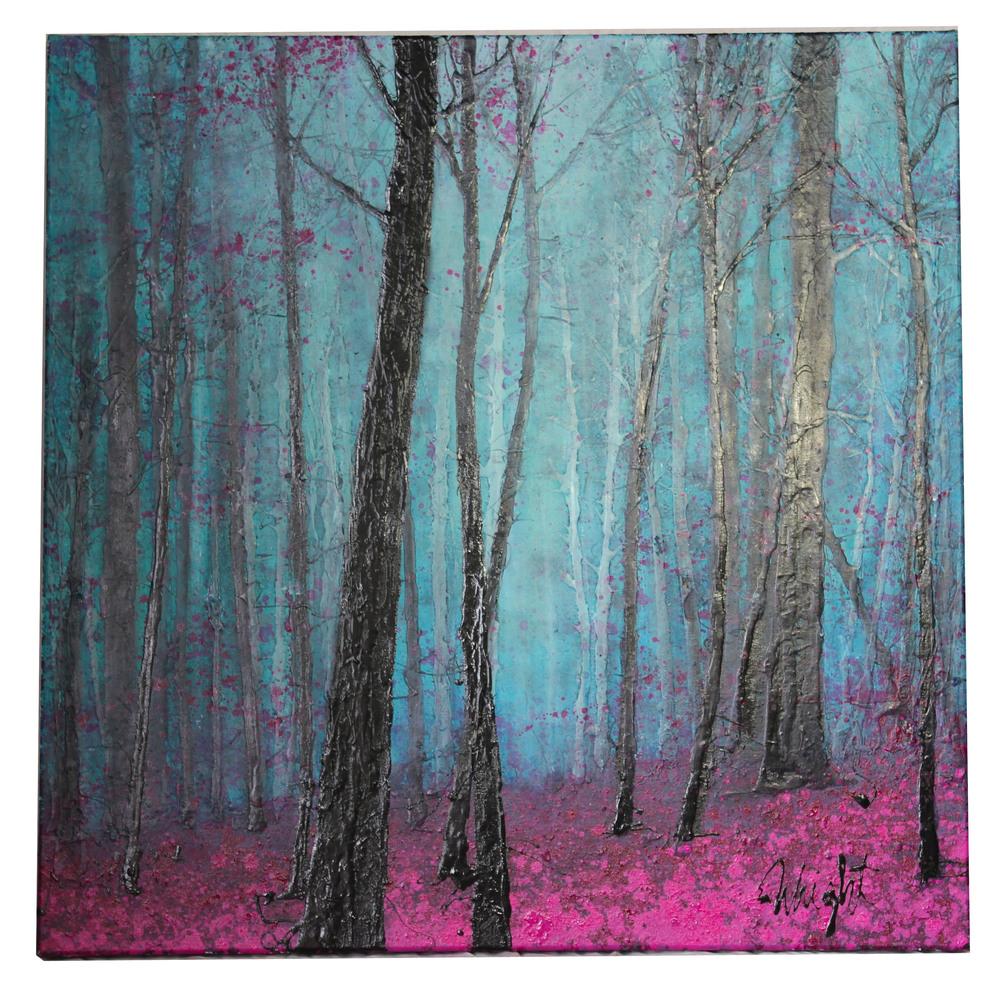 "Purple Grove | 36x36"""