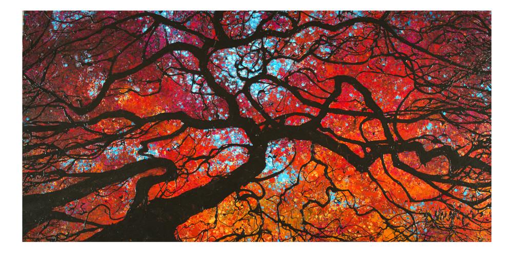 "Japanese Maple, San Francisco   48x36"""